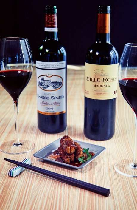 「引き締まった味わいのワイン