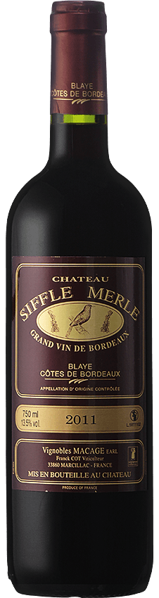 chateau siffle merle rouge