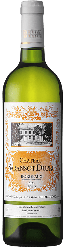 chateau saransot  dupre